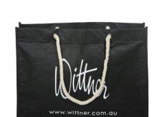 <b>黑色无纺布购物袋</b>