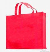 <b>简约时尚红色手提袋</b>